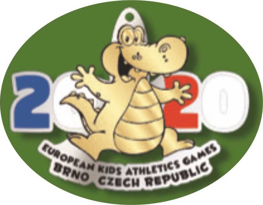 EKAG 2020 medaile gold