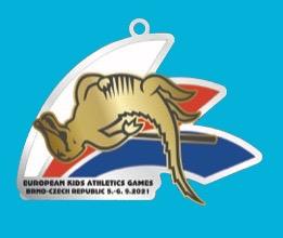 Medaile EKAG 2021